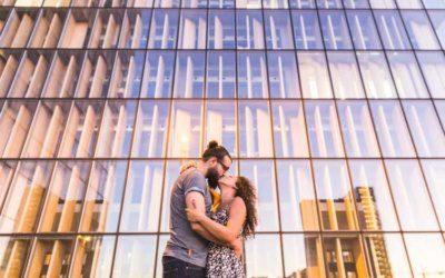 Séance engagement Nabila & Ilya à Paris