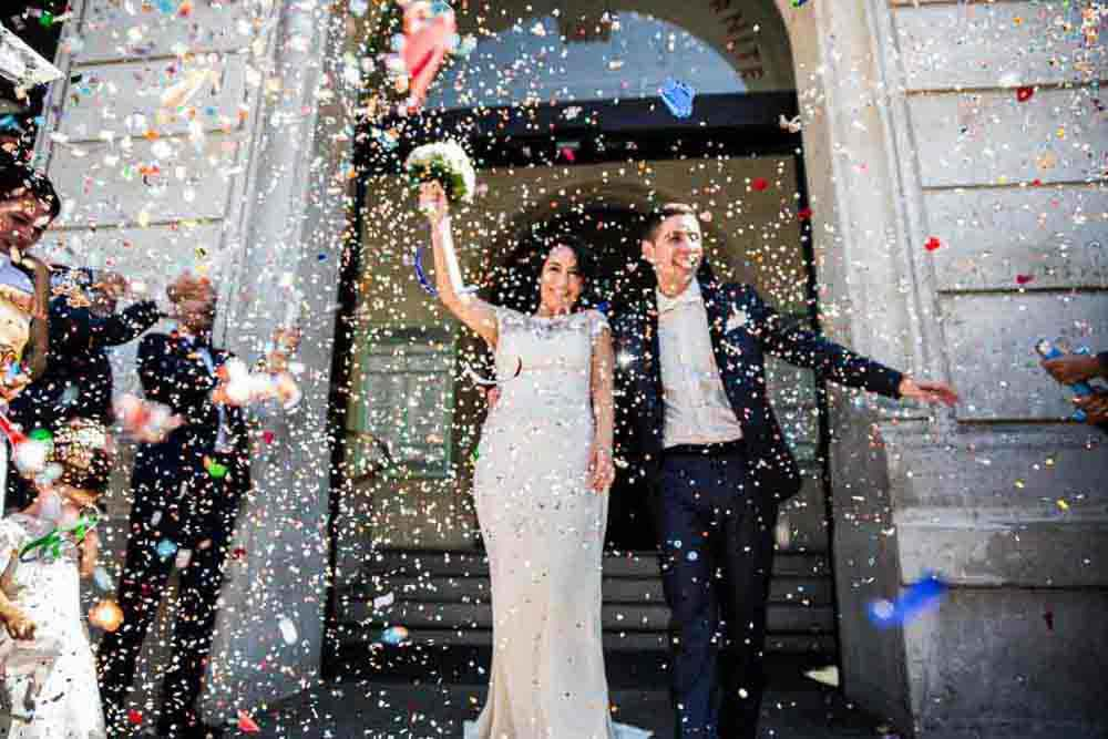 photo reporter de mariage à Colombes