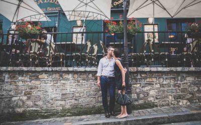 Séance Couple Engagement à Montmartre