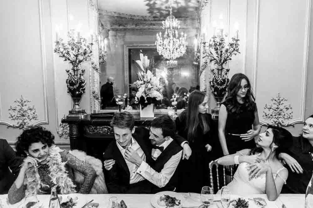 soiree mariage repas