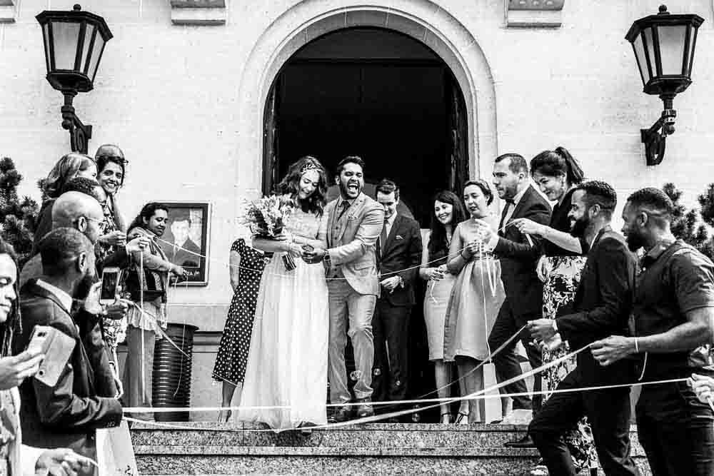 Mariage sortie de mairie idf