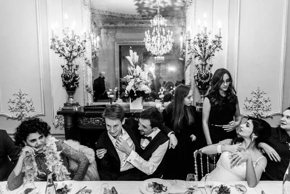 photo de mariage paris idf soirée
